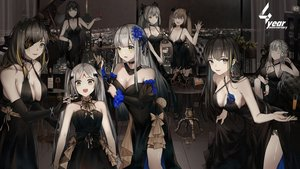 Rating: Safe Score: 66 Tags: ak12_(girls_frontline) anthropomorphism black_hair breasts brown_hair building choker city cleavage dress elbow_gloves elisa_(girls_frontline) eyepatch flowers girls_frontline gloves gray_eyes gray_hair green_eyes group headdress hk416_(girls_frontline) instrument long_hair m16a1_(girls_frontline) m4a1_(girls_frontline) piano twintails ump-45_(girls_frontline) ump-9_(girls_frontline) wink yuuki_mix User: mattiasc02