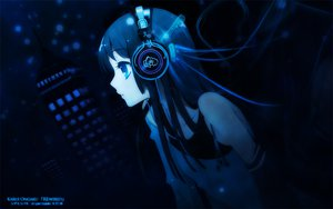 Rating: Safe Score: 223 Tags: akiyama_mio black_hair headphones itou_noiji k-on! User: silmeria372