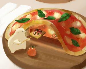 Rating: Safe Score: 13 Tags: animal bear bird chai_(artist) cropped fire food fruit leaves nobody original pizza polychromatic signed User: otaku_emmy