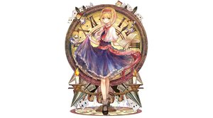 Rating: Safe Score: 83 Tags: alice_margatroid bai_qi-qsr book doll mage shanghai_doll touhou User: luckyluna
