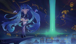 Rating: Safe Score: 57 Tags: hatsune_miku ly.t signed vocaloid User: Fepple