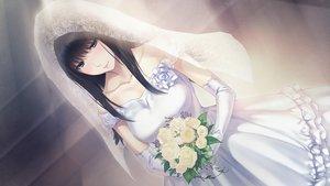 Rating: Safe Score: 48 Tags: game_cg innocent_grey kara_no_shoujo_2 kuchiki_touko sugina_miki wedding_attire User: mattiasc02
