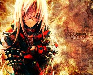 Rating: Safe Score: 66 Tags: armor bandage long_hair white_hair User: Oyashiro-sama
