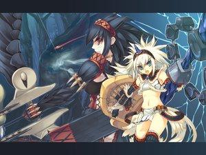 Rating: Safe Score: 102 Tags: colorful_dot kirin_(armor) monster_hunter nargacuga_(armor) zama_masaaki User: atlantiza
