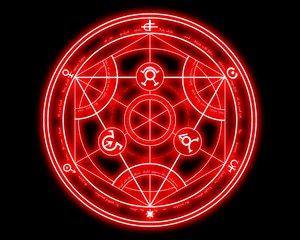 Rating: Safe Score: 57 Tags: black fullmetal_alchemist logo magic nobody User: Oyashiro-sama