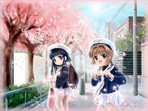 Rating: Safe Score: 15 Tags: card_captor_sakura cherry_blossoms clamp daidouji_tomoyo flowers kinomoto_sakura User: Oyashiro-sama