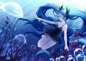 Rating: Safe Score: 21 Tags: animal blue_hair bubbles deep-sea_girl_(vocaloid) dress fish green_eyes hatsune_miku long_hair summer_dress tagme_(artist) twintails underwear vocaloid water User: BattlequeenYume