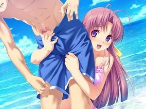 Rating: Explicit Score: 166 Tags: aoi_matsuri bikini blush censored game_cg handjob koutaro swimsuit tropical_kiss twinkle User: RyuZU