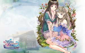 Rating: Safe Score: 81 Tags: 2girls atelier atelier_rorona atelier_totori cecilia_helmold dress kishida_mel totooria_helmold User: Wiresetc