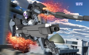 Rating: Safe Score: 43 Tags: gun mecha mobile_suit_gundam mobile_suit_gundam_00 tagme weapon zefai User: opai