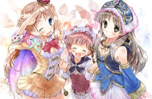 Rating: Safe Score: 25 Tags: atelier_totori dress rororina_fryxell scarlet_(studioscr) tagme wink User: opai