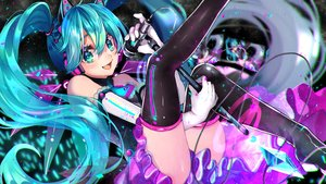 Rating: Safe Score: 40 Tags: hatsune_miku huu-cross vocaloid User: mattiasc02