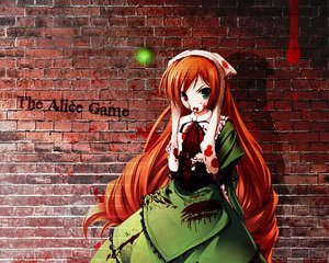 Rating: Safe Score: 18 Tags: bicolored_eyes blood rozen_maiden suiseiseki User: An0z