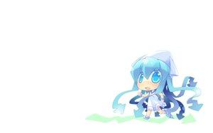 Rating: Safe Score: 15 Tags: chibi hat ikamusume nesu shinryaku!_ikamusume white User: SciFi