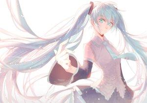 Rating: Safe Score: 38 Tags: aqua_hair blue_eyes blue_hair hatsune_miku long_hair twintails vocaloid User: humanpinka