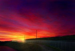 Rating: Safe Score: 31 Tags: clouds landscape mks nobody original scenic sky sunset User: RyuZU