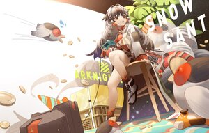 Rating: Safe Score: 31 Tags: arknights braids brown_eyes brown_hair game_console long_hair river_(river_ga) skirt snowsant_(arknights) User: BattlequeenYume
