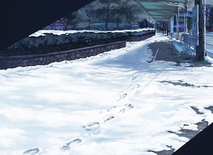 Rating: Safe Score: 132 Tags: gom_jabbar original scenic snow User: FormX