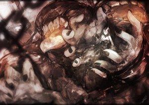 Rating: Safe Score: 57 Tags: anthropomorphism battleship_water_oni kantai_collection marumoru polychromatic User: luckyluna