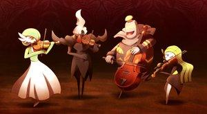 Rating: Safe Score: 76 Tags: darkrai dusknoir gardevoir instrument meloetta pokemon ribero violin User: FormX