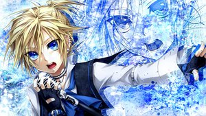 Rating: Safe Score: 44 Tags: all_male blonde_hair blue_eyes gloves kagamine_len male microphone ueno_tsuki vocaloid zoom_layer User: Maboroshi
