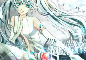 Rating: Safe Score: 46 Tags: hatsune_miku miku_append twintails vocaloid User: HawthorneKitty
