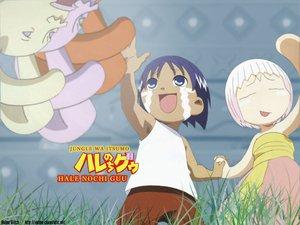 Rating: Safe Score: 3 Tags: jungle_wa_itsumo_hale_nochi_guu User: Oyashiro-sama