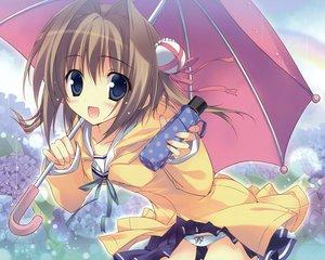 Rating: Questionable Score: 129 Tags: asakura_yume brown_hair da_capo da_capo_ii karory panties school_uniform umbrella underwear User: Wiresetc