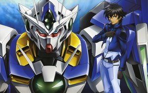Rating: Safe Score: 25 Tags: male mecha mobile_suit_gundam mobile_suit_gundam_00 setsuna_f_seiei User: Roobaj