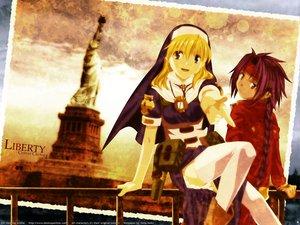 Rating: Safe Score: 9 Tags: chrno chrono_crusade nun pointed_ears rosette_christopher User: Oyashiro-sama