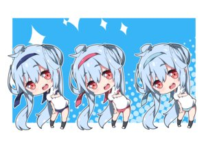 Rating: Safe Score: 13 Tags: aliasing bloomers blue_hair chibi gym_uniform headband kneehighs long_hair matoi_(pso2) milkpanda phantasy_star phantasy_star_online phantasy_star_online_2 red_eyes User: otaku_emmy