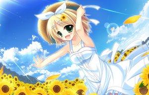 Rating: Safe Score: 41 Tags: dress kagamine_rin summer_dress vocaloid User: HawthorneKitty