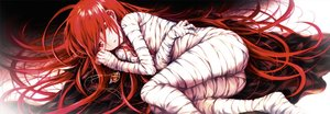Rating: Safe Score: 56 Tags: bandage long_hair necklace polychromatic red_eyes red_hair shakugan_no_shana shana tachitsu_teto waifu2x User: BattlequeenYume