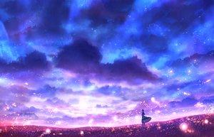 Rating: Safe Score: 36 Tags: bou_nin clouds original polychromatic scenic sky User: mattiasc02