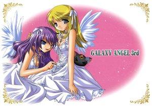 Rating: Safe Score: 29 Tags: galaxy_angel galaxy_angel_rune kahlua_marjoram tequila_marjoram wings User: 秀悟