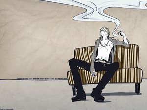 Rating: Safe Score: 33 Tags: cigarette one_piece sanji smoking User: Moony