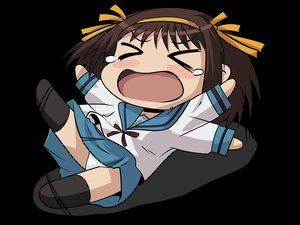 Rating: Safe Score: 30 Tags: chibi panties suzumiya_haruhi suzumiya_haruhi_no_yuutsu tears transparent underwear vector User: grummi92