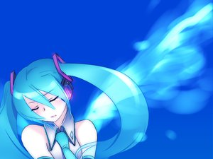 Rating: Safe Score: 28 Tags: aqua_hair blue caffein hatsune_miku tie twintails vocaloid User: HawthorneKitty