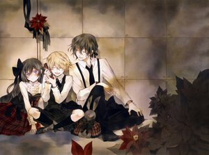 Rating: Safe Score: 45 Tags: gilbert_nightray oz_bezarius pandora_hearts User: AliceWonderWorld