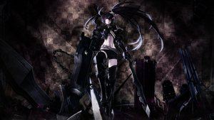 Rating: Safe Score: 138 Tags: black_rock_shooter dark insane_black_rock_shooter User: ReQUieMX_ZeRO