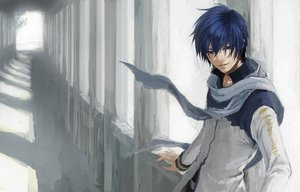 Rating: Safe Score: 22 Tags: kaito scarf vocaloid yamakawa_umi User: MissBMoon