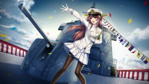 Rating: Safe Score: 25 Tags: anthropomorphism kantai_collection kongou_(kancolle) tagme User: luckyluna