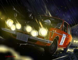 Rating: Safe Score: 21 Tags: car glasses jetbrick night original rain signed water User: RyuZU