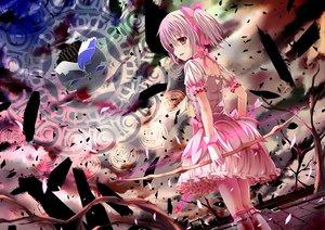 Rating: Safe Score: 70 Tags: bow bow_(weapon) dress kaname_madoka mahou_shoujo_madoka_magica pink_eyes pink_hair short_hair weapon yuuri_nayuta User: w7382001