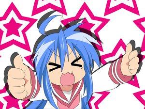 Rating: Safe Score: 1 Tags: izumi_konata lucky_star stars User: Oyashiro-sama