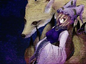 Rating: Safe Score: 21 Tags: animal animal_ears fox foxgirl multiple_tails tail touhou yakumo_ran User: WhiteExecutor