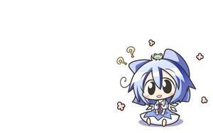 Rating: Safe Score: 27 Tags: animal aoblue blush bow chibi cirno fairy frog ribbons touhou white User: SciFi