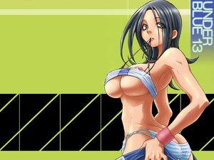Rating: Questionable Score: 58 Tags: eureka_seven nipple_slip panties tagme talho_yuuki underboob underwear User: Oyashiro-sama