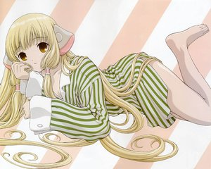 Rating: Questionable Score: 9 Tags: blonde_hair chii chobits yellow_eyes User: 秀悟