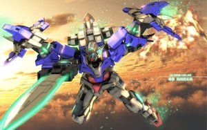 Rating: Safe Score: 70 Tags: mecha mobile_suit_gundam mobile_suit_gundam_00 sky sword tagme weapon zefai User: opai